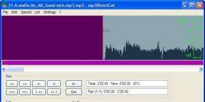 mp3DirectCut  Ekran Görüntüsü
