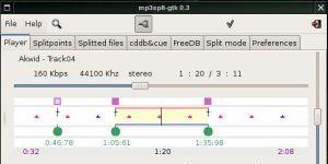 Mp3splt-gtk Ekran Görüntüsü