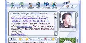 MSN Messenger 7.0 Ekran Görüntüsü