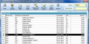 Müşteri Takip ve Veresiye Defteri Ücretsiz Sürüm (Muhasebe) Ekran Görüntüsü