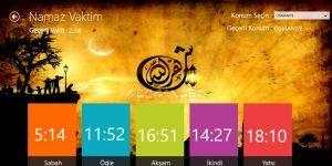 Namaz Vaktim Ekran Görüntüsü