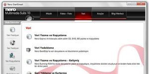 Nero Multimedia Suite Ekran G�r�nt�s�