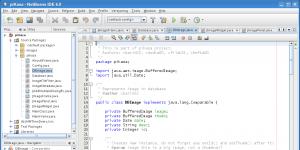 NetBeans IDE Ekran Görüntüsü