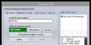NetPaylas Ekran Görüntüsü