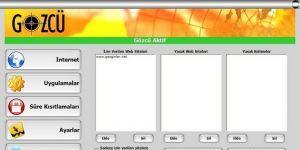 Netron Gözcü - Ebeveyn Kontrol Yazılımı Ekran Görüntüsü