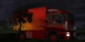 Night Truck Racing Ekran Görüntüsü