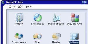 Nokia PC Suite Ekran Görüntüsü