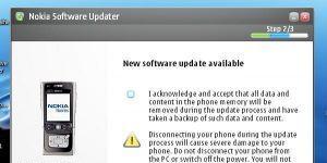 Nokia Software Updater Ekran Görüntüsü