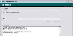Norman Malware Cleaner Ekran G�r�nt�s�
