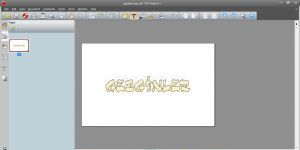 Nuance PDF Reader Ekran Görüntüsü