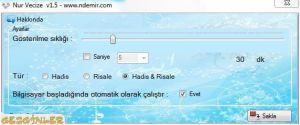 Nur Vecize - Hadis ve Risale'den Vecizeler Ekran Görüntüsü