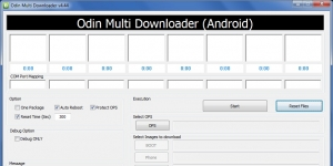 Odin Multi Downloader Ekran G�r�nt�s�