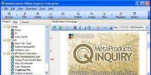 Offline Explorer Enterprise Ekran Görüntüsü
