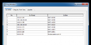 OGZSOFT Ping Monitor Ekran Görüntüsü