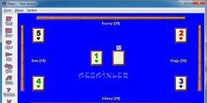 Okey Oyunu Ekran Görüntüsü