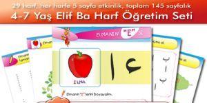 4-6 Yaş (Okul Öncesi) Elifba Harf Öğretim Seti Ekran Görüntüsü