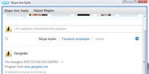 ON AIR Skype Ne Dinliyorum? Ekran Görüntüsü