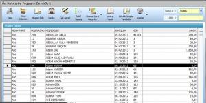 Ön Muhasebe Programı DemirSoft Ekran Görüntüsü