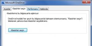 OneDrive (Microsoft SkyDrive) Ekran Görüntüsü