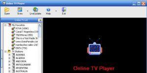 Online TV Player Ekran Görüntüsü