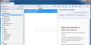 Opera Mail Ekran Görüntüsü