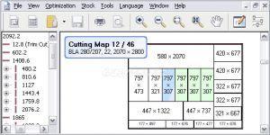 OptiCUT - Panel ve profil kesim optimizasyon programı Ekran Görüntüsü