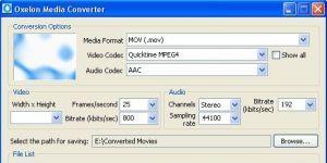 Oxelon Media Converter Ekran Görüntüsü
