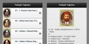Padişah Tuğraları Ekran Görüntüsü