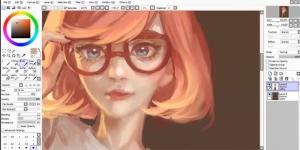 PaintTool SAI Ekran Görüntüsü