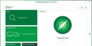 Panda AntiVirus Pro Ekran Görüntüsü