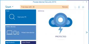 Panda Internet Security Ekran Görüntüsü