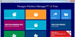 Paragon Partition Manager Free Edition Ekran Görüntüsü