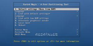 Parted Magic Ekran Görüntüsü
