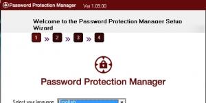 Password Protection Manager Ekran Görüntüsü