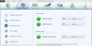 Magix PC Check und Tuning Ekran Görüntüsü