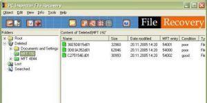 PC Inspector File Recovery Ekran Görüntüsü
