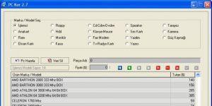 PC KUR Ekran Görüntüsü