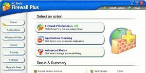 PC Tools Firewall Plus Ekran Görüntüsü