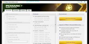 PCMark Ekran Görüntüsü