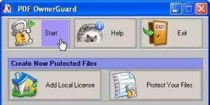 PDF OwnerGuard Personal Ekran Görüntüsü