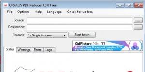 PDF Reducer Ekran Görüntüsü