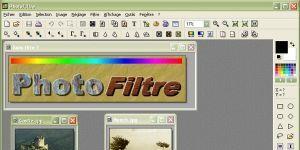 PhotoFiltre Ekran Görüntüsü