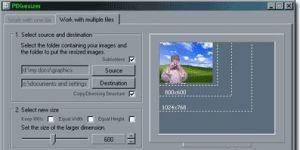 PIXresizer Ekran Görüntüsü
