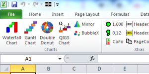 PlusX Excel Add-In Ekran Görüntüsü