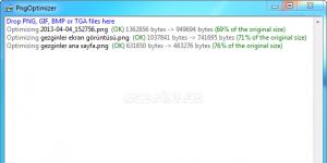 PngOptimizer Ekran Görüntüsü
