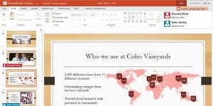 PowerPoint Online Ekran Görüntüsü