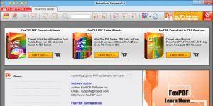 FoxPDF PowerPoint Reader Ekran Görüntüsü