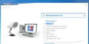 PrivaZer Ekran Görüntüsü