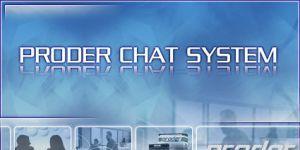 PRODER Chat Sistemi Ekran Görüntüsü