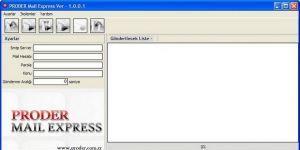 PRODER MailExpress Ekran Görüntüsü